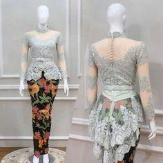 Ideas fashion outfits indian women for 2019 Kebaya Modern Hijab, Model Kebaya Modern, Kebaya Hijab, Kebaya Brokat, Dress Brokat, Kebaya Muslim, Kebaya Bali Modern, Kebaya Peplum, Kebaya Lace
