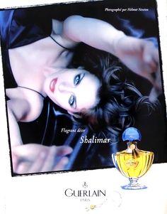 Publicité du parfum Shalimar(1997 - 1998) de Guerlain