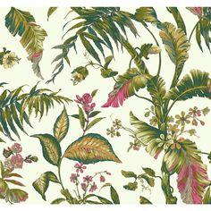 "Found it at AllModern - Ashford Tropics Fiji Garden 27' x 27"" Floral and…"