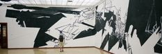 """Mural for """"Stuck on the city"""" 2012. Prague City Gallery"""