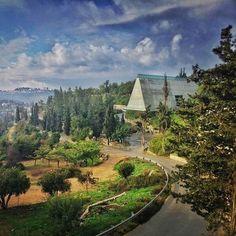 A view to the Yad Vashem Holocaust History Museum. Spring 2016  - (the pin via Yad Vashem - https://fi.pinterest.com/pin/229191068514985957/