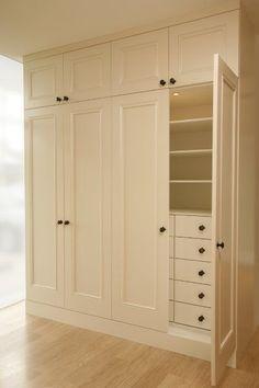 Ikea Closet Organizer, Bedroom Closet Storage, Hallway Closet, Bedroom Closet Doors, Bedroom Closet Design, Wardrobe Storage, Closet Shelves, Bedroom Wardrobe, Closet Designs