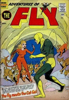 Silver Age Comics: Adventures of the Fly #9