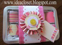 Idea Closet: Secret Sister Gifts