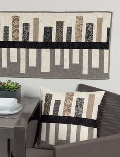 I'm sharing quilts from Think Big this week! I'm behind in posting these as the book released December 2014, but better late than never!  The best part about Think Big, is all the options. I broke it down into charts,
