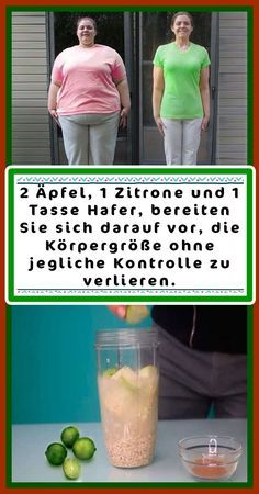 vorher nachher 2 apples, 1 lemon and 1 cup of oats, prepare to body . 2 apples, 1 lemon and 1 cup of oats, prepare to body . Best Picture For No Gluten Diet, Sin Gluten, Health And Wellness, Health Tips, Health Fitness, Fitness Workouts, Myfitnesspal Recipes, 500 Calories A Day, Lose Weight