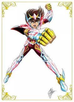 Seiya na versão anime do filme.