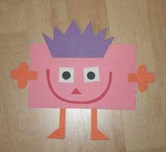 kids rectangle shape craft