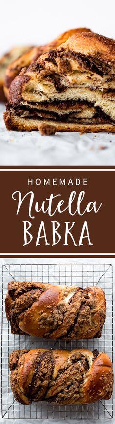 Nutella Babka - Sallys Baking Addiction