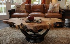 Round wood Table Living Room is part of Coffee table wood - Welcome to Office Furniture, in this moment I'm going to teach you about Round wood Table Living Room Tree Stump Furniture, Tree Stump Table, Live Edge Furniture, Log Furniture, Furniture Ideas, Business Furniture, Furniture Design, Outdoor Furniture, Round Wood Table