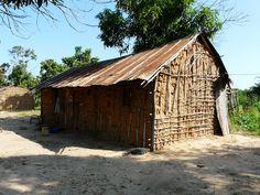 Angola - mud house