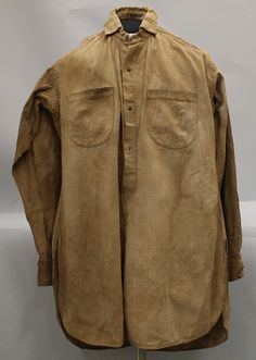 Henry A. Magruder's shirt. Accession number: 1962.251.2 (MDAH Museum Division collection)