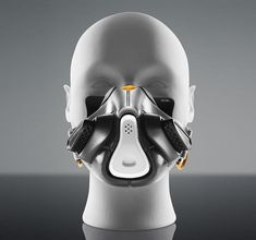 Urban Survival: 12 Futuristic Fashion Designs for Air Pollution Masks - Best Air Filter Pollution Face Mask for Wildfire Smoke, Smog, Dust, Mold, Allergies Arte Tech, Le Manoosh, Breathing Mask, Airsoft Helmet, Respirator Mask, Medical Design, Mask Design, Helmet Design, Survival Gear