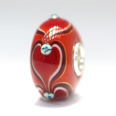 Of course Valentine's Day is a holiday and this is also a perfect Christmas bead too! We are always listing new unique beads!