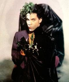 young prince with his double face jokerbatman in the videoclip batman