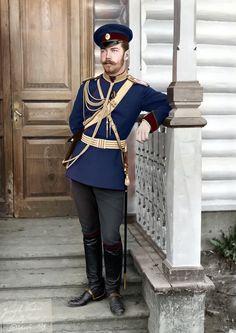 Tsar Nicolas Ii, Tsar Nicholas, Mode Russe, Beard Images, Uniform Insignia, Royal Photography, House Of Romanov, Imperial Russia, Reyes