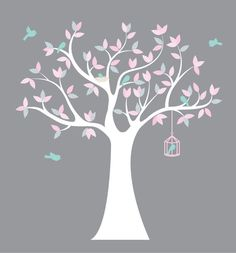 Hey, I found this really awesome Etsy listing at https://www.etsy.com/listing/182342211/nursery-wall-tree-vinyl-tree-decal