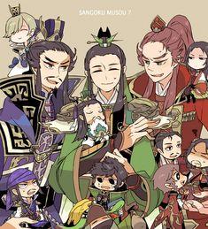 Tags: Dynasty Warriors, Zhou Yu, Lu Meng, Lu Xun, Sun Quan, Cao Cao