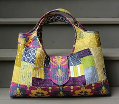 Tinker Tote complete! (Craftsy class by Tara Rebman)
