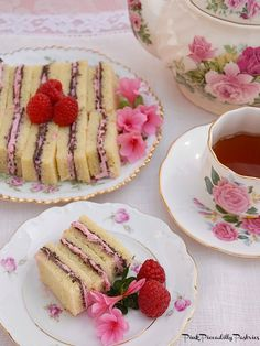Today I bring you some delicious Chocolate Raspberry Tea Sandwiches   from a cookbook called Gale Gand's just a bite. She starts out th...