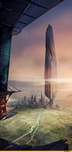 Хочется предложить вашему вниманию работы киевлянина под ником sid75 / art / красивые рисунки и картины красивые картинки ландшафт Sci-Fi fa...