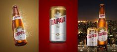 Itaipava Beer Rebrand — The Dieline - Branding & Packaging linework, premium, clean