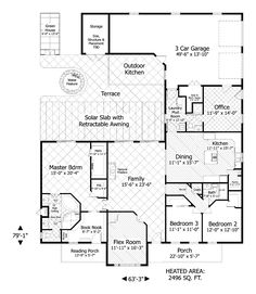 "Neat! Never seen a floor plan with a ""book nook"" included. I could live here forever."