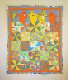 Child Quilt / Lap Quilt / Kid Quilt / Throw Quilt / Modern Quilt ... : modern kids quilts - Adamdwight.com