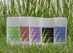 Benefits of Lemongrass Spa Natural Deodorants:   NO pore blocking aluminum, NO hormone disrupting fragrances, NO propylene glycol, & NO parabens.  Deodorize with our special blend of cocoa butter, beeswax and tea tree essential oil.  Try Cucumber Melon, Grapefruit Lily, Lavender, Men's Private Reserve, and Unscented.