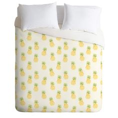 Wonder Forest Pineapple Express Duvet Cover | DENY Designs Home Accessories