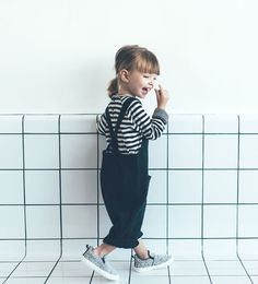 Embroidered dungarees with pockets