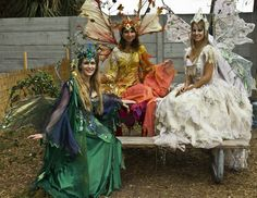Fairy costumes. #Faeries