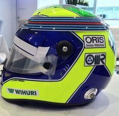 Massa 200 GP helmet Silverstone