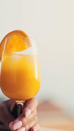 Orange Juice Cocktail Food #iPhone #6 #plus #wallpaper