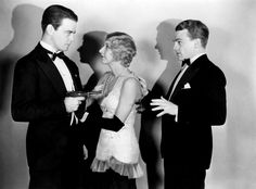 (L to R) Lew Ayrese, Dorothy Matthews, James Cagney  (movie - TheDoorway to Hell)