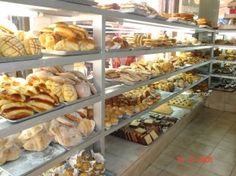 pan dulce at the panaderia