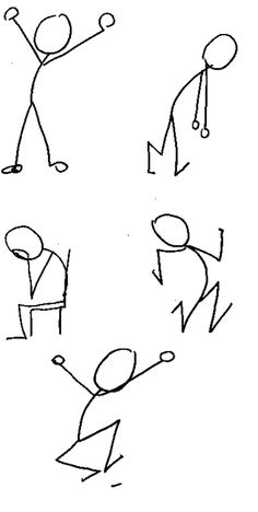 LEarn to draw stick figures! Real Good!