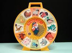 """This was one of my favorite toys when I was a kid. Always loved animals and their sounds. Eventually I figured out you could make it skip if you jerked on the cord so that it would say something like """"The cow goes/Bark bark bark."""" That killed me. And eventually killed the toy off."""