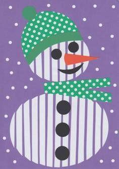 Sněhulák – roláž Winter Art Projects, Winter Project, School Art Projects, Winter Kids, Christmas Crafts For Kids, Christmas Projects, Winter Holidays, Holidays And Events, Mathematics Geometry