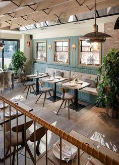 VINTAGE INDUSTRIAL BAR AND RESTAURANT DESIGNS #restaurantdesign