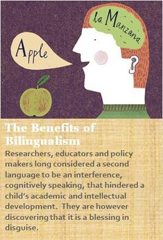 """Benefits of Bilingualism - Click on Apraxia after you get to the website. It will allow you to get """"Inside the mind"""" of bilingual education and show you why it is extremely beneficial to be bilingual. Although advanced great for student's confidence when you explain to them what it says!"""