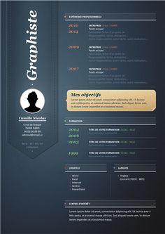 Creatif Design Modele Cv Gratuit