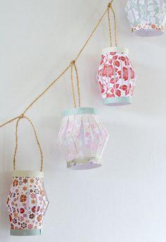 How to make paper lanterns
