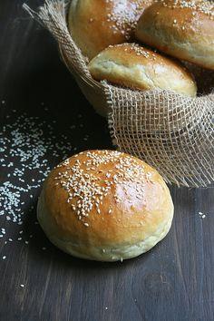 Pains à burgers - Buns - Passion culinaire by Minouchka