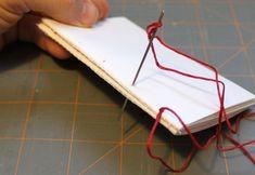 #diy journal/sketchbook soft cover, binding technique