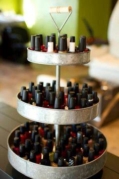 ROCK paper Scissors Salon & Boutique Small Town Missouri Salon Nail polish