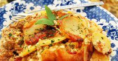 Pehtoorin perunaloora / Traditional meat-and-potato casserole-Tämä oli todella hyvää!