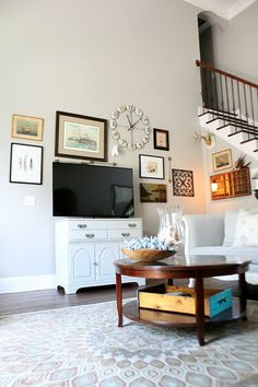 Gallery Wall Ideas in the Living Room