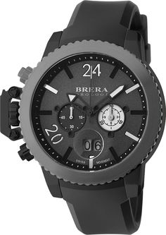 We love a man in all black! The new BRERA Militare in black on black looks great for winter!