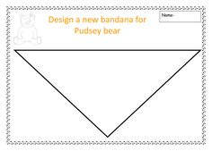 design a bandana for pudsey bear.doc